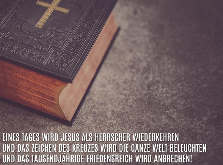 Das Kreuz - ein Symbol des Sieges - Er liebt Dich!