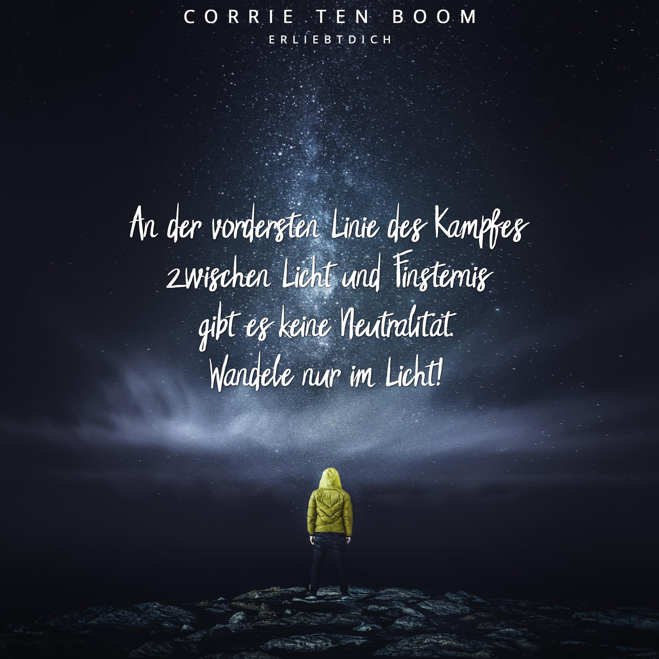 im Licht Gottes Text gehen