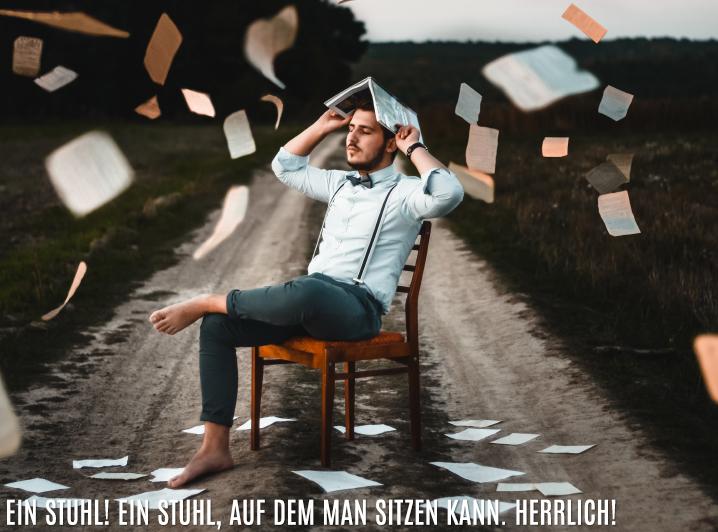 Ein Königreich für einen Stuhl! - Leben mit Jesus