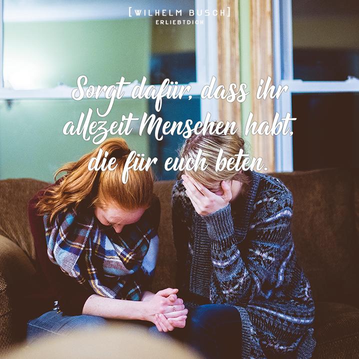 Lass für dich beten!