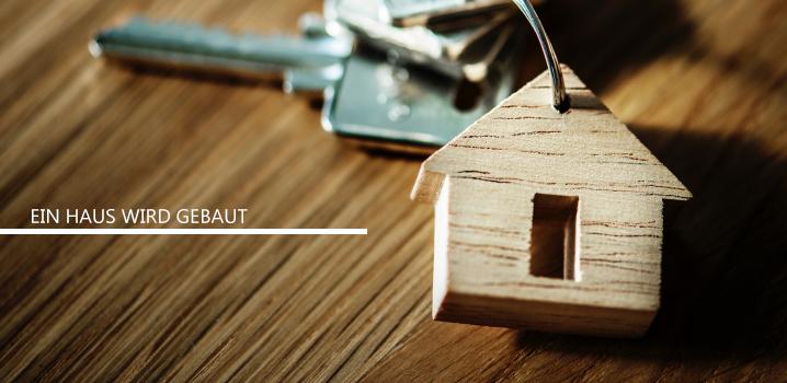 Ein Haus wird gebaut - meine Gemeinde zieht um.