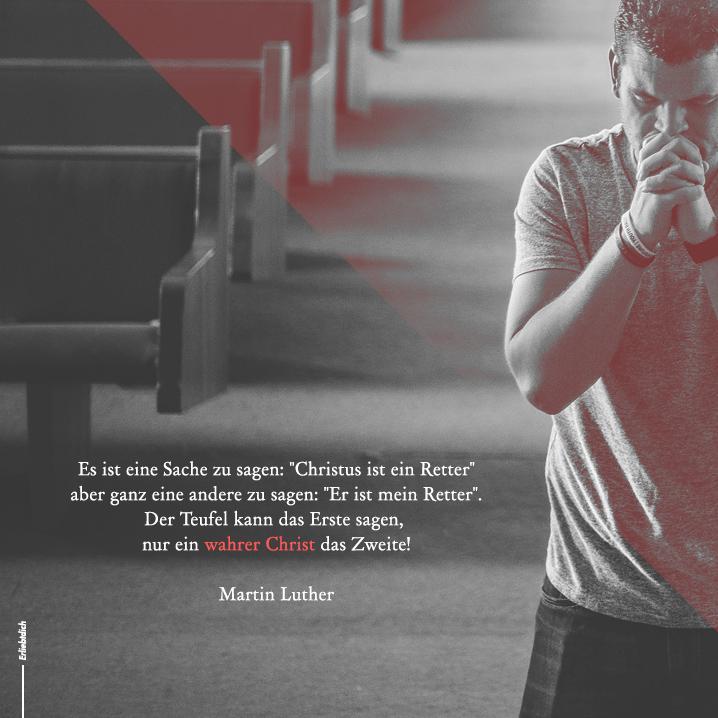"""Kannst du """"Jesus ist mein Retter"""" sagen?"""