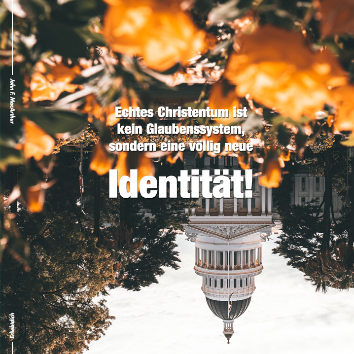 Keine Religion, sondern eine völlig neue Identität!