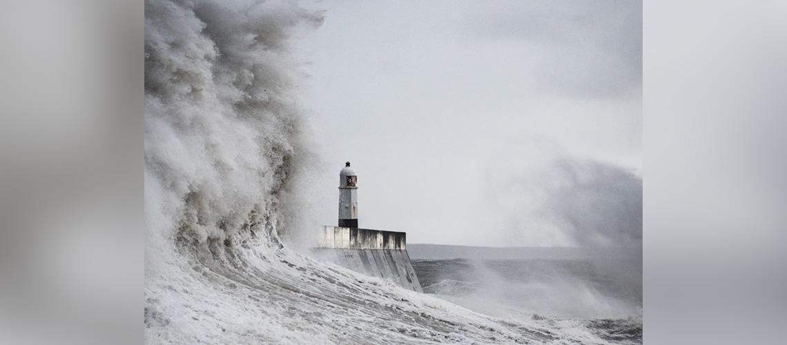 Selbst im stärksten Sturm ist Gott an deiner Seite!