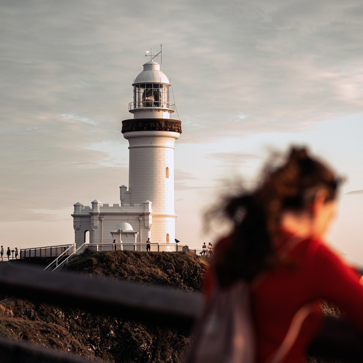 Gott ist mein Wegweiser, mein Leuchtturm.