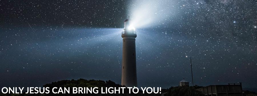In der Finsternis scheint Gott mir als Licht!