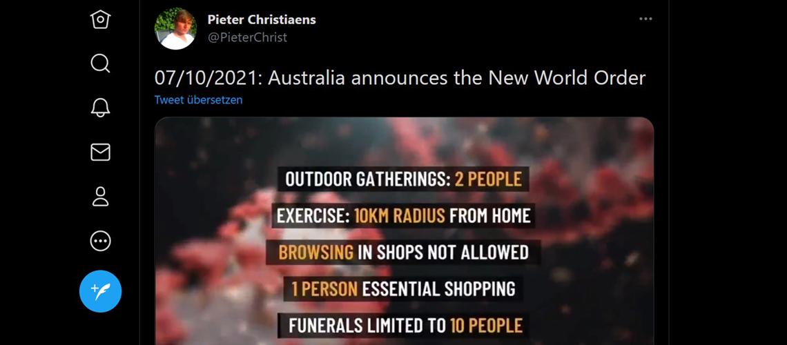 Willkommen in der Neuen Weltordnung!