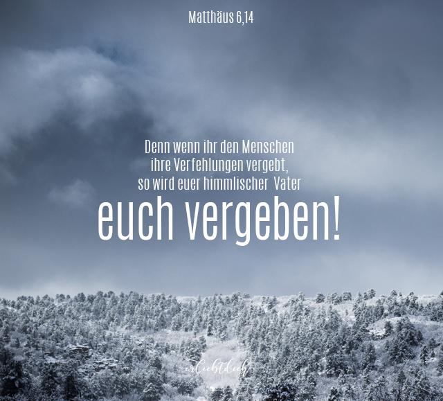 Bibelsprüche für den Alltag - Matthäus 6,14