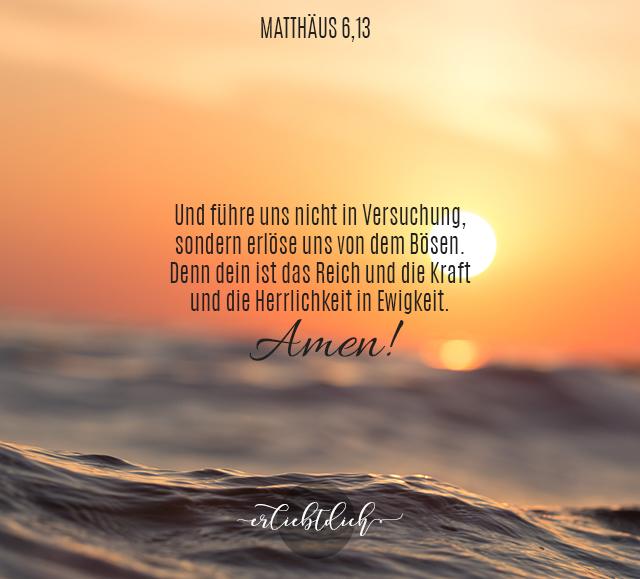 Bibelspruch für den Alltag