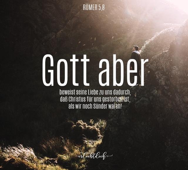 Bibelsprüche für den Alltag - Römer 5,8