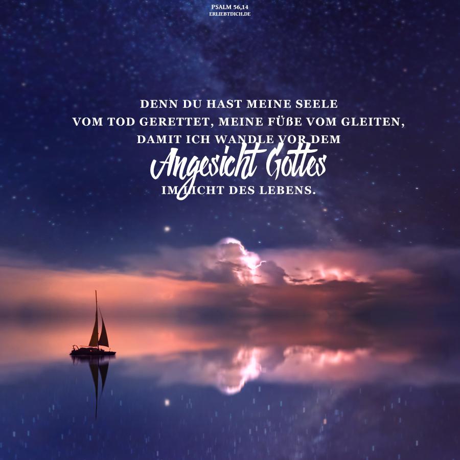 Je größer die Bedrängnis, desto größer seine Gnade!