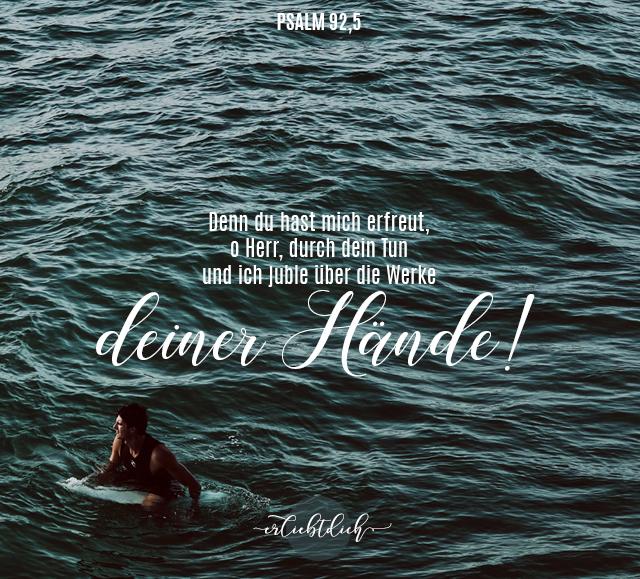 Bibelsprüche für den Alltag - Psalm 92,5