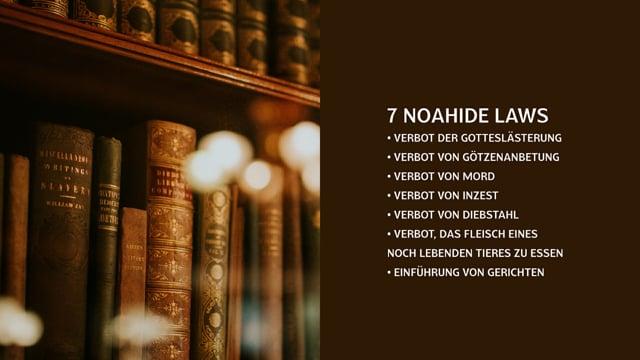 Noahide Laws – Gesetze, die jeden Menschen auf der Welt bedrohen!