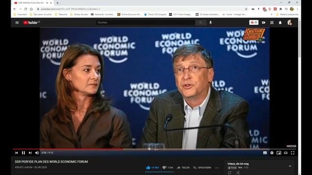 Wie das World Economic Forum zwei brisante Themenfelder entfernte!