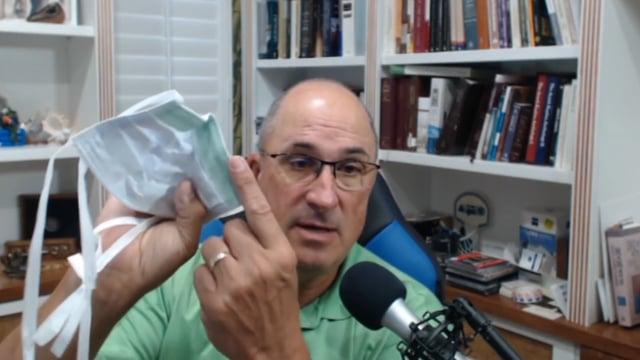 Dr. Ted Noel beweist, dass Masken nicht vor Viren schützen!