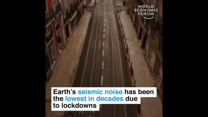 """""""Lockdowns verbessern Städte!"""" titelt das WEF und kassiert einen Shitstorm."""