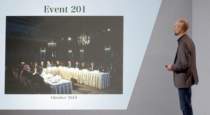 Paul Schreyer – Pandemie Planspiele – Vorbereitung einer neuen Ära.