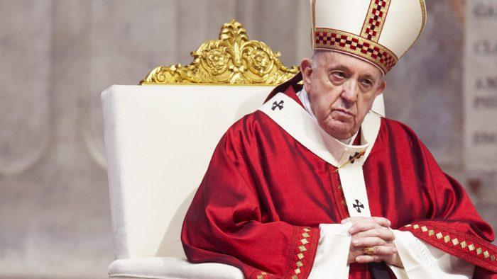 Der Papst ist ein Feind des Kreuzes!
