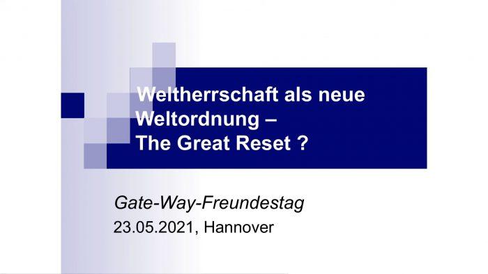 Weltherrschaft als Neue Weltordnung – Dr. Wolfgang Nestvogel